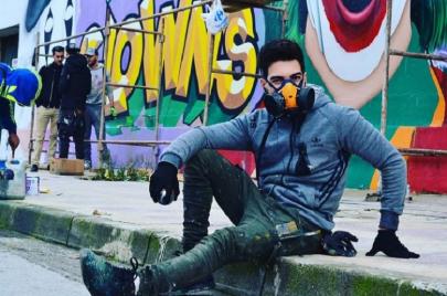 حوار| مكي دفاس: أرسم على جدران الشوارع لأعيد للمدن أرواحها