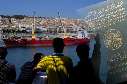 جواز السفر في الجزائر..