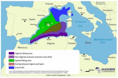 إسبانيا تتّهم الجزائر بالتوسّع في مياهها الإقليمية
