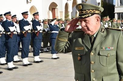 شنقريحة يتوعد باستئصال الإرهاب من الجزائر