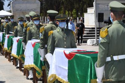 في جنازة رسمية.. رفات قادة المقاومة تلتحق بمربع الشهداء